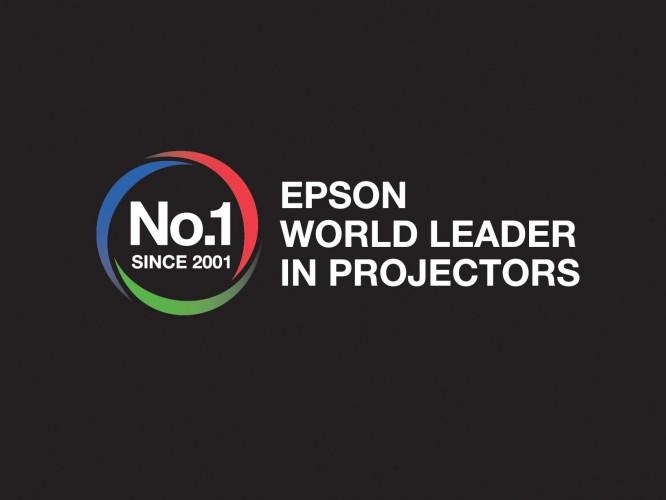 Epson a été classé premier fabricant de projecteurs au monde pour la 14ème année consécutive