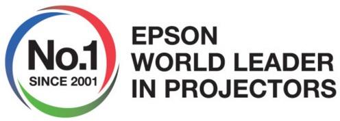 Epson har utsetts till världens främsta projektortillverkare för femtonde året i rad!
