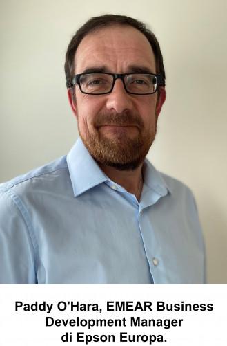 Epson Europa nomina un nuovo manager per accelerare la vendita OEM delle testine di stampa