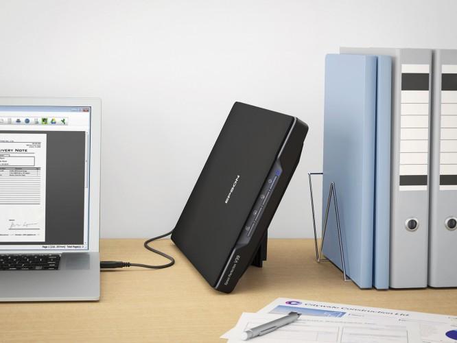 Neuer Epson Flachbettscanner für zuhause und Büros