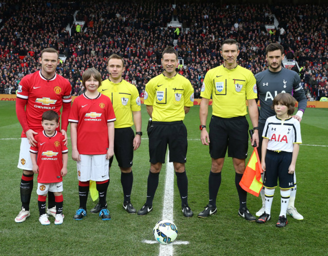 Airlifted Patient Lewis is Manchester United's Matchday Mascot