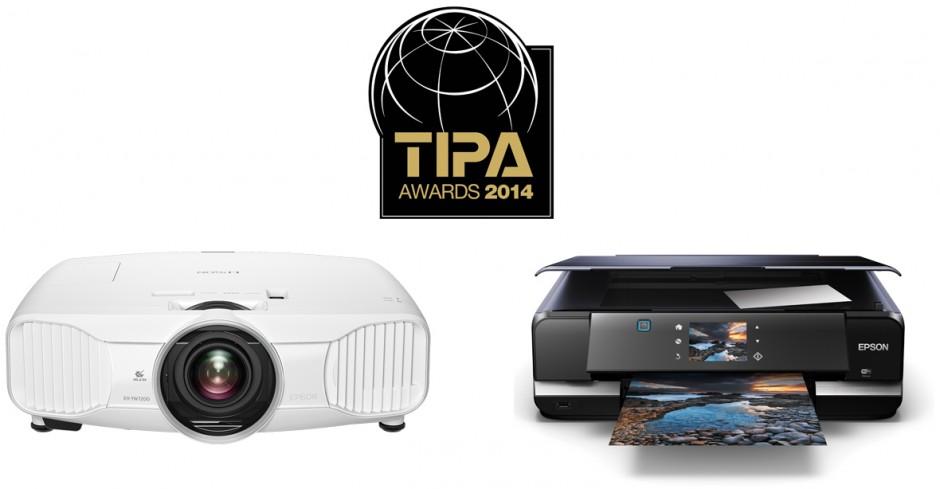 A Epson ganha dois prestigiantes prémios TIPA: Melhor Impressora Fotográfica e Melhor Projector para Fotógrafos