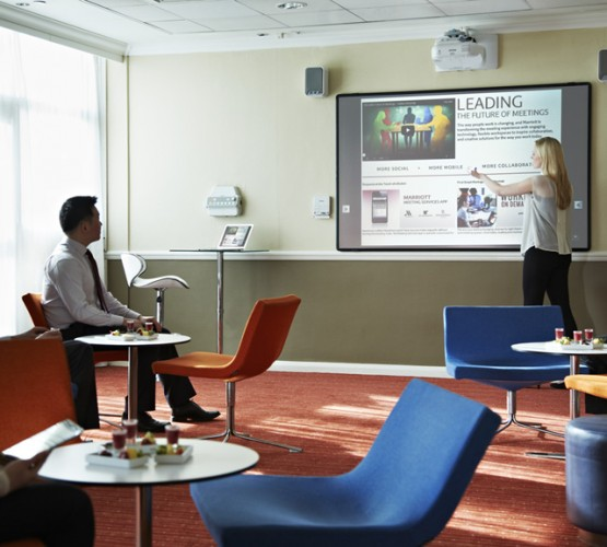 Portsmouth Marriott Hotel chooses Epson to deliver a next generation meeting experience