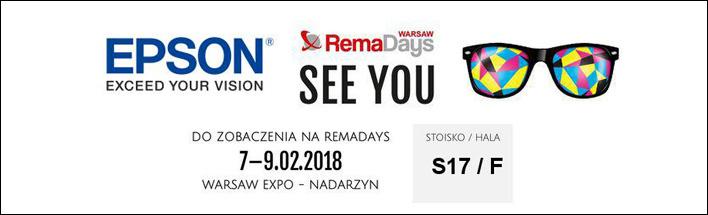 Epson na RemaDays 2018