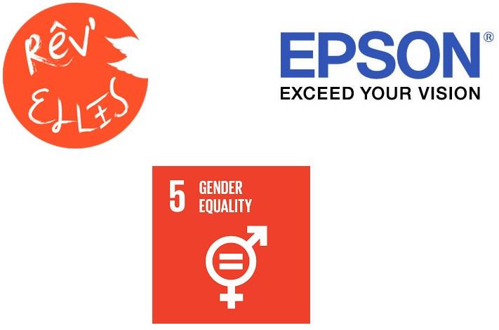 Epson France s'engage en faveur de l'égalité des chances aux côtés de l'association Rêv'Elles !