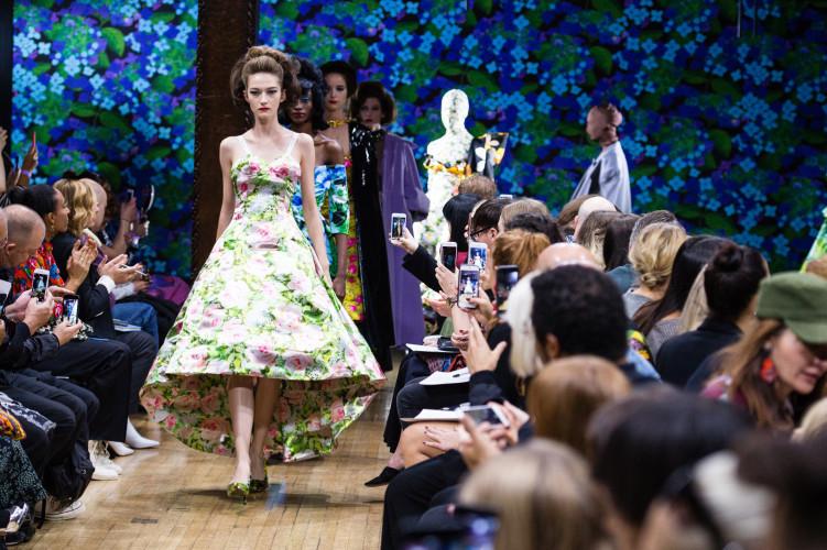 Epson bedruckt Stoffe für die London Fashion Week