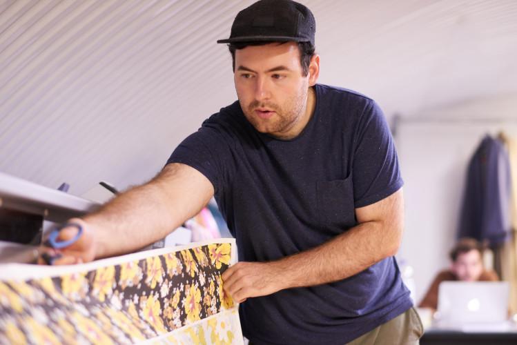 Richard Quinn, ein Designer der jungen Generation