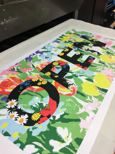 Richard Quinn launches 'open access' textile print studio