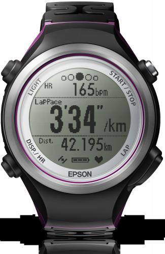 Auf die Plätze, fertig, los: Epson GPS-Sportuhr mit optischem Herzfrequenzsensor ab sofort erhältlich