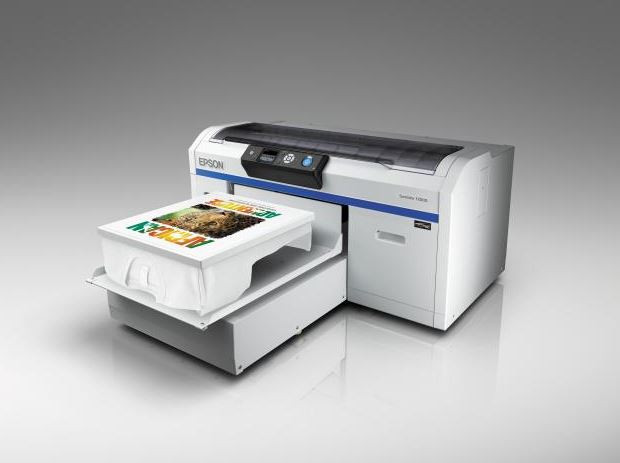 Epson textile printing technology in action at Printwear & Promotion LIVE 2015