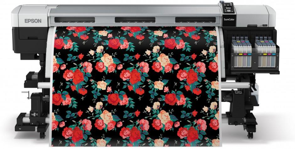 Komplet pakke til udskrivning af store mængder tekstil