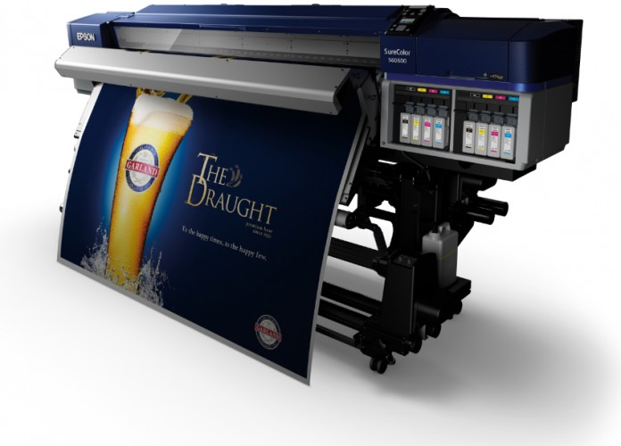 European debut for four new Epson large-format printers  at FESPA Digital