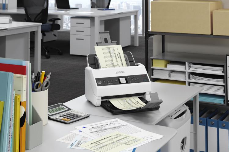 Con il nuovo scanner WorkForce DS-730N, Epson promuove la digitalizzazione e semplifica la gestione della carta in ufficio