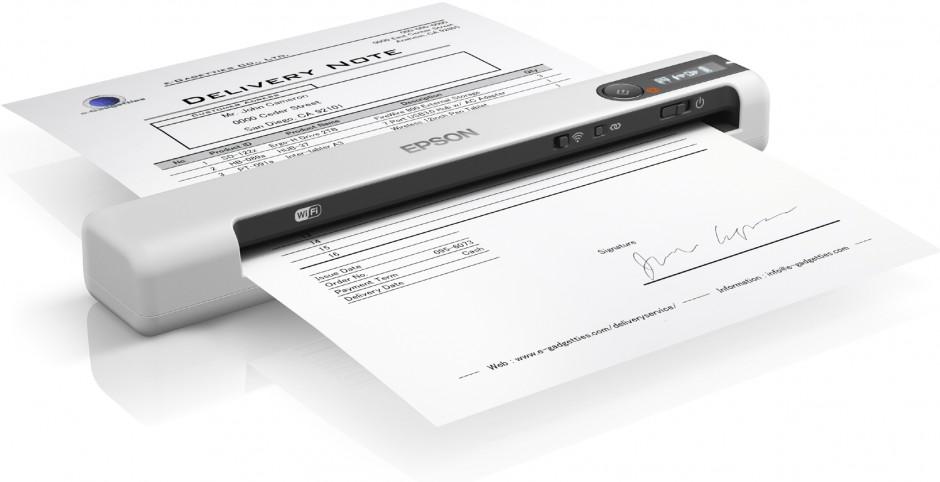 Da Epson nuovi scanner portatili leggeri e compatti