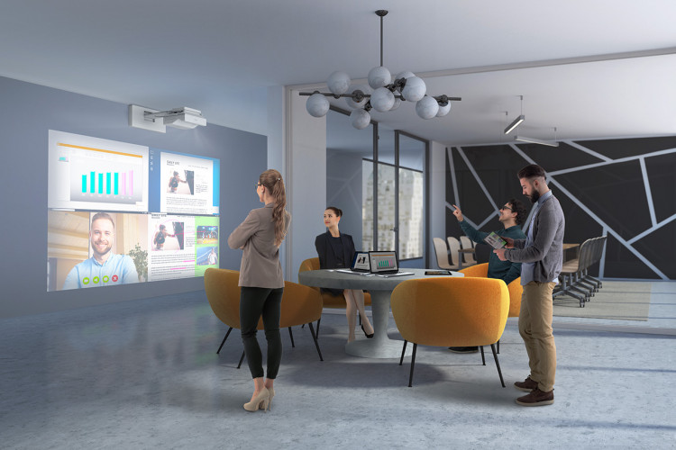 Epson launches new Let's share wireless presentation systems, eliminating connectivity delays and improving collaboration