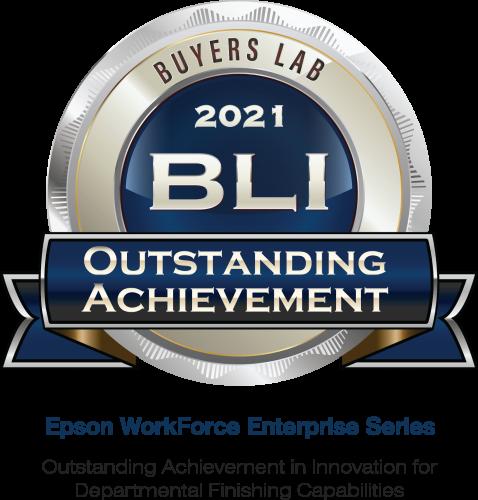 Epson récompensé par les BLI Winter 2021 « Pick and Outstanding Achievement » de Keypoint Intelligence