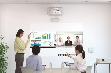 Epson تبتكر أجهزة إسقاط تجارية خاصة بقاعات الاجتماعات