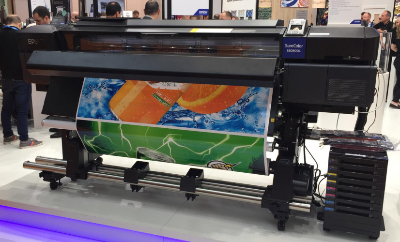 Epson announces two top-of-the-range, high productivity signage printers at FESPA 2019
