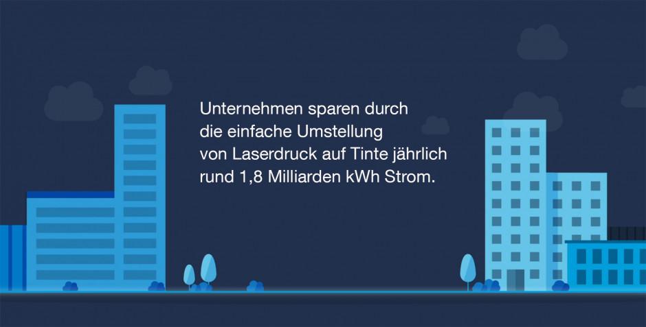 Umstellung auf Tintendruck spart jährlich rund 213 Millionen Euro