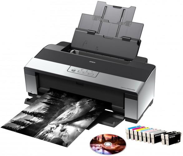Schwarz auf weiß: Epson Fotodrucker mit gratis Nik-Software
