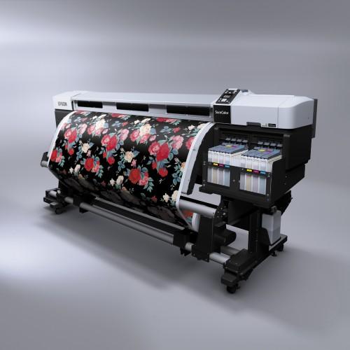 Epson Technologie produziert Textilien