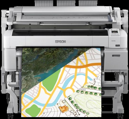 SAB gaat concurrentie aan met behulp van Epson SureColor™ SC-T serie