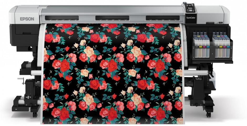 Epson Produktionslösung für großvolumige Textildrucke