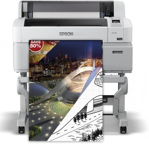 Cashback-Aktion für Großformatdrucker