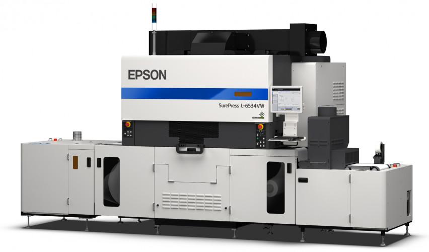 Epson SurePress L-6534VW: elevata velocità di stampa, qualità premium e maggiori possibilità di utilizzo.
