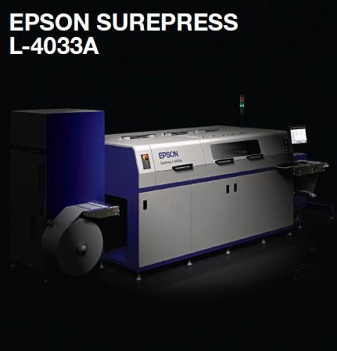 Epson prezentuje SurePress L-4033A — cyfrową maszynę do druku etykiet