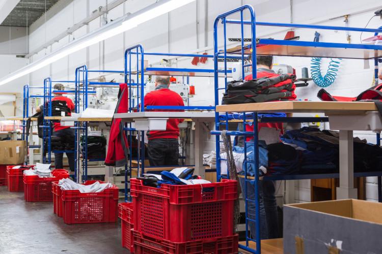 Producción de ropa de alta calidad