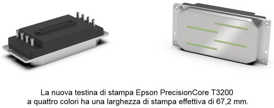 Epson presenta le nuove testine di stampa della serie T,  le prime con riscaldatore integrato per applicazioni UV
