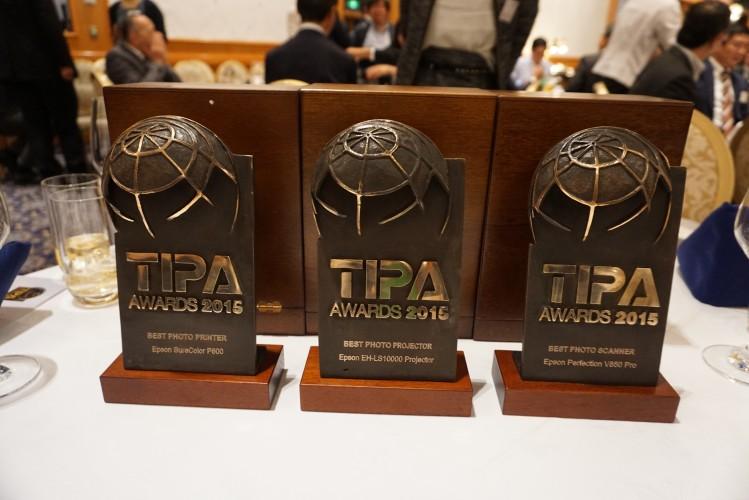 Epson distinguida nos prémios TIPA - Melhor Impressora, Melhor Projetor e Melhor Scanner Fotográfico