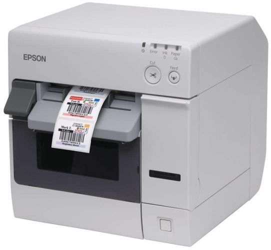 Tintasugaras nyomtató tartós címkék nyomtatásához
