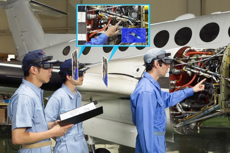 Epson revoluciona el sector industrial con las nuevas smartglasses Moverio Pro BT-2000