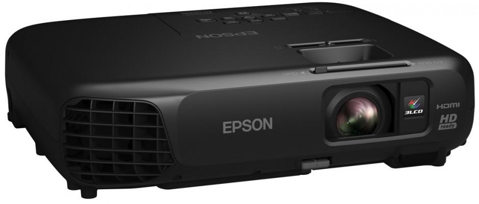 Spelen, kijken en beleven met de nieuwe HD-Ready draagbare projector van Epson