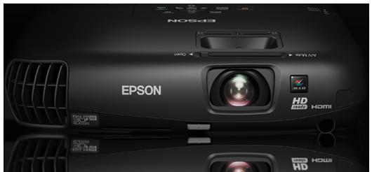 Přenosná domácí zábava ve 3D od společnosti Epson