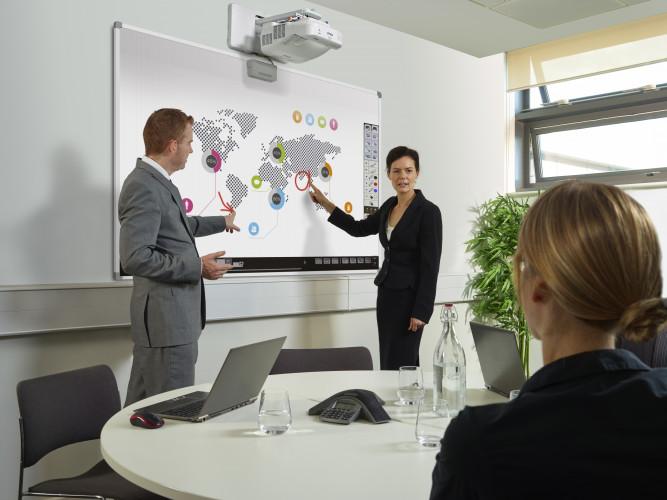 Technologie, die die Zusammenarbeit der Mitarbeiter fördert