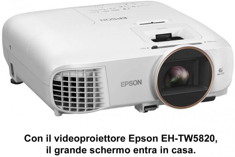 Epson presenta i nuovi videoproiettori per l'Home Entertainment e per chi lavora in casa