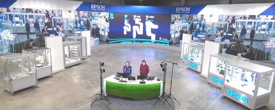 Epson ouvre un espace de 500m² à ses clients et partenaires européens pour tester ses solutions robotiques et industrielles