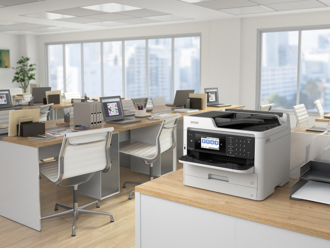 Scotland's first print & copier social enterprise partners with Epson based on its eco merits