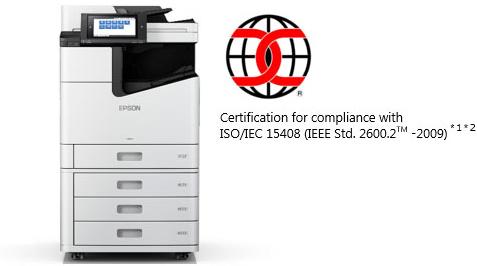 Las impresoras Epson con cabezal en línea y alta velocidad reciben la certificación de seguridad TI ISO/IEC 15408