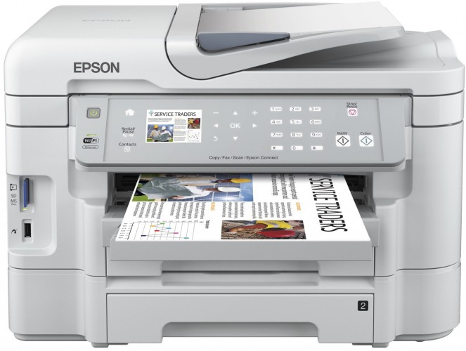 Neue Epson WorkForce senken Kosten
