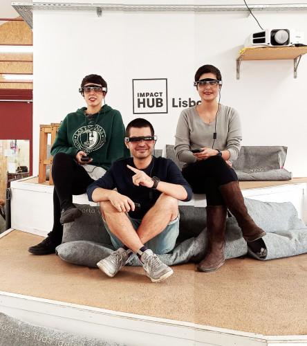 Epson premeia Start Up Weembee com os óculos Moverio para concretização de ideia disruptiva para melhorar o nosso futuro