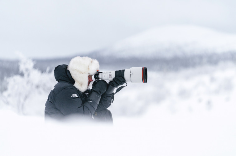 Att fånga den norrländska skönheten på bild
