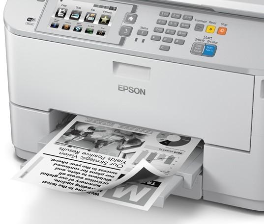 Epson presenta la impresión profesional de bajo consumo con la máxima fiabilidad y excelentes resultados
