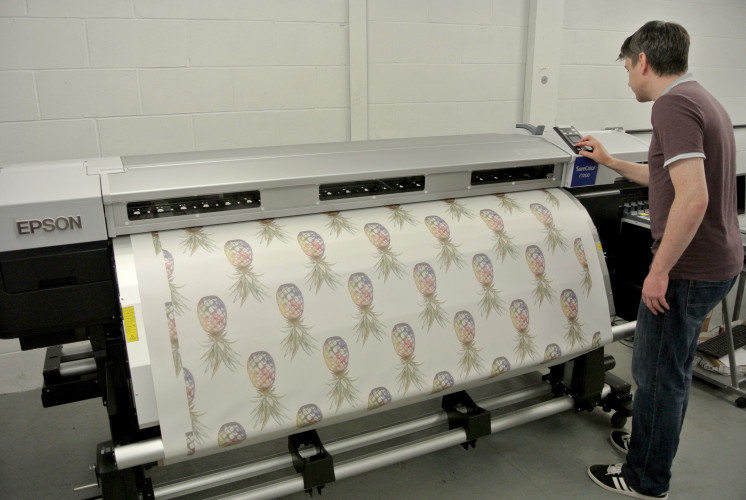 Woven Monkey looks for expansion with diversification into Epson dye sublimation technology