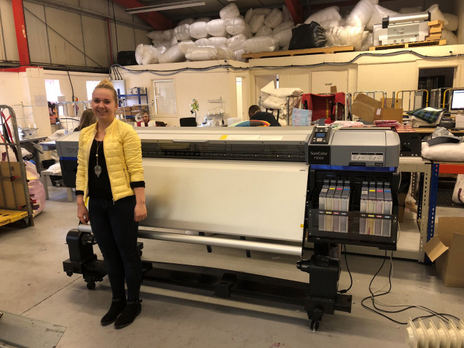 WPAPS takes the UK's first Epson SureColor SC-F9300 textile printer