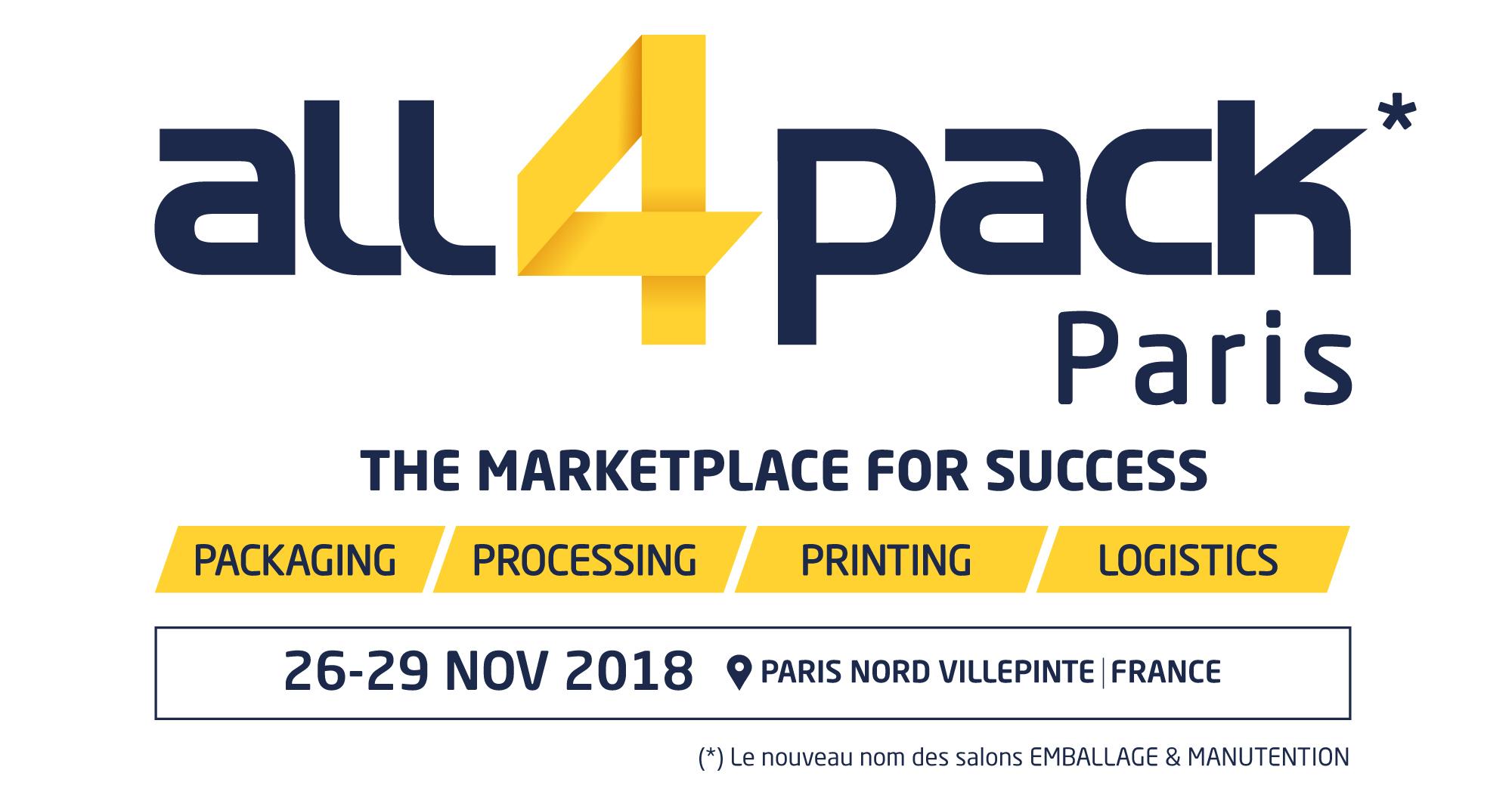 Salon ALL4PACK Paris