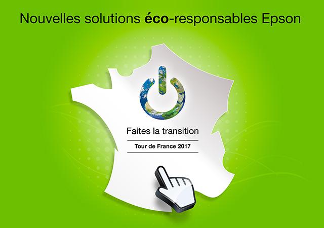 Tour de France Epson 2017 - Nouvelles solutions éco-responsables Epson